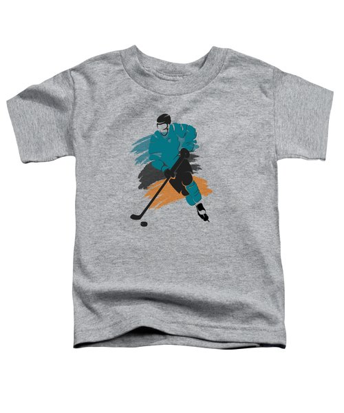 San Jose Sharks Player Shirt Toddler T-Shirt