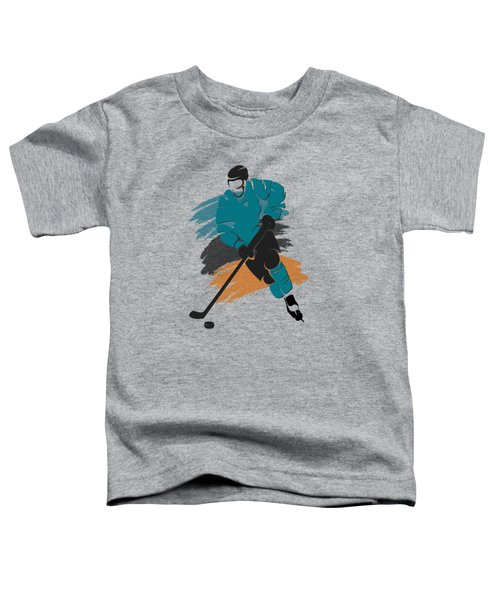San Jose Sharks Player Shirt Toddler T-Shirt