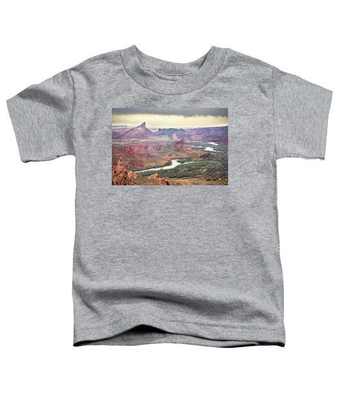 San Juan River And Mule's Ear Toddler T-Shirt