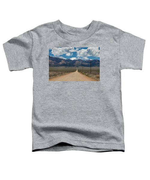 San Luis Valley Back Road Cruising Toddler T-Shirt by James BO Insogna