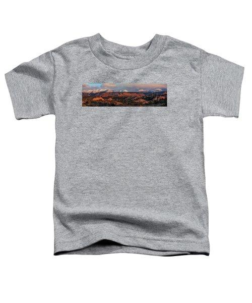 Sand Flats Sunset Toddler T-Shirt