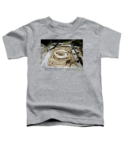 Toddler T-Shirt featuring the photograph Sand Turtle Print by Francesca Mackenney