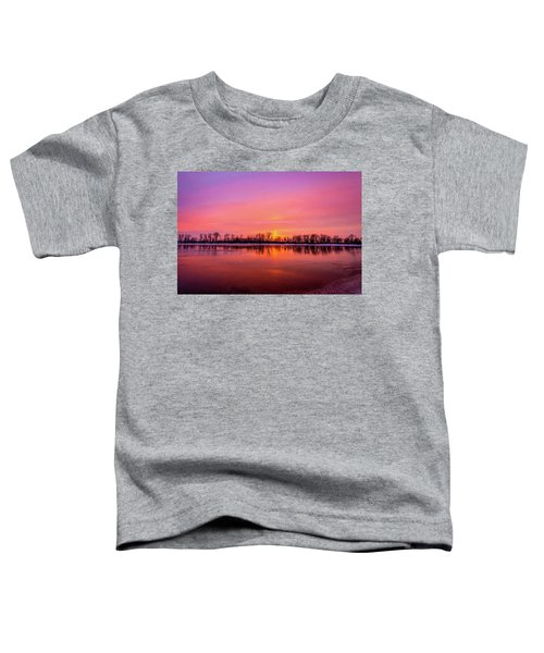 Sandy Chute Sunset Toddler T-Shirt