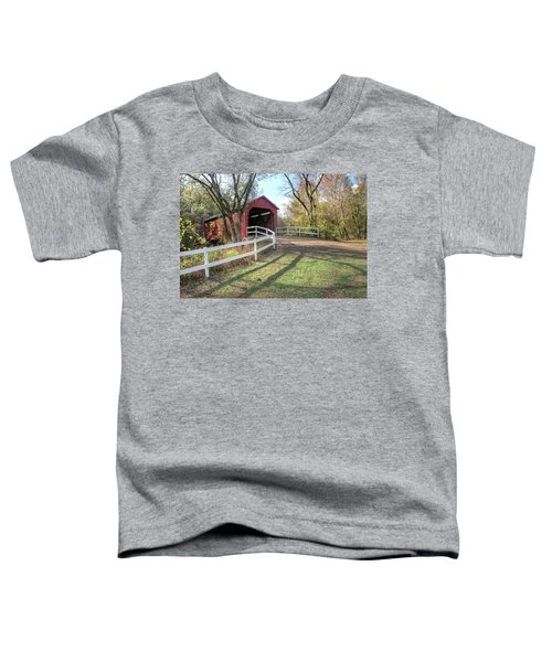 Sandy Creek Covered Bridge Toddler T-Shirt