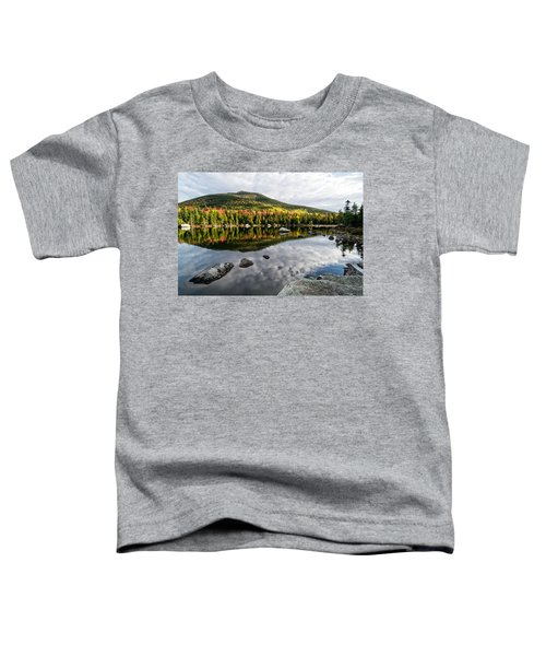 Reflection Sandy Stream Pond Me. Toddler T-Shirt