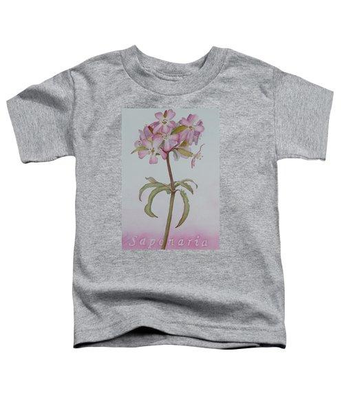 Saponaria Toddler T-Shirt