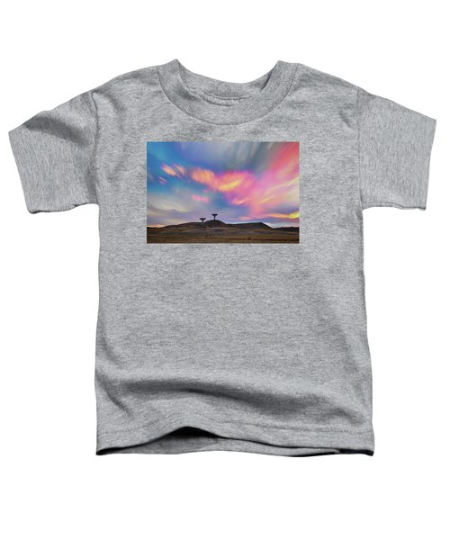Toddler T-Shirt featuring the photograph Satellite Dishes Quiet Communications To The Skies by James BO Insogna