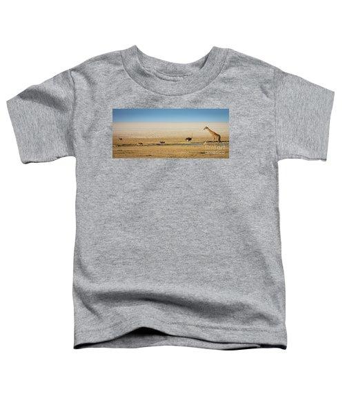 Savanna Life Toddler T-Shirt by Inge Johnsson