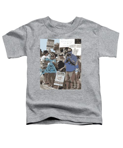 Save Our Lagoon Toddler T-Shirt