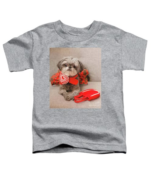 Scarlett And Red Purse Toddler T-Shirt