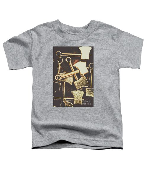 Scattering Axes Toddler T-Shirt