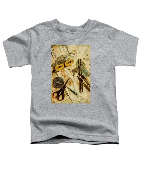 Scene From A Fifties Craft Room Toddler T-Shirt