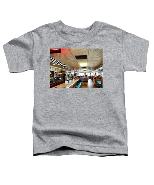 Scenes From A Diner Toddler T-Shirt