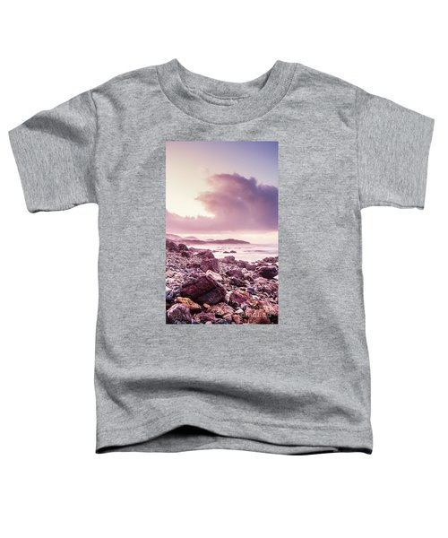 Scenic Seaside Sunrise Toddler T-Shirt