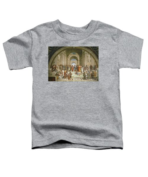 School Of Athens From The Stanza Della Segnatura Toddler T-Shirt