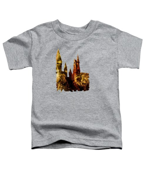 School Of Magic Toddler T-Shirt by Anastasiya Malakhova