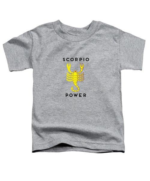 Scorpio Power Toddler T-Shirt