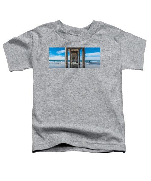 Scripps Pier La Jolla California Toddler T-Shirt