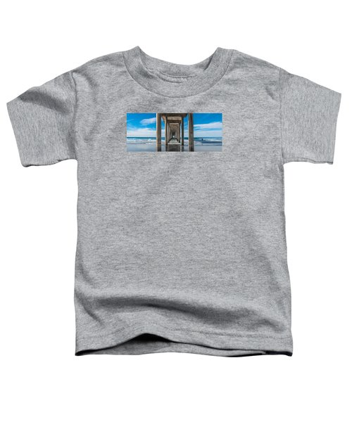 Scripps Pier La Jolla California Toddler T-Shirt