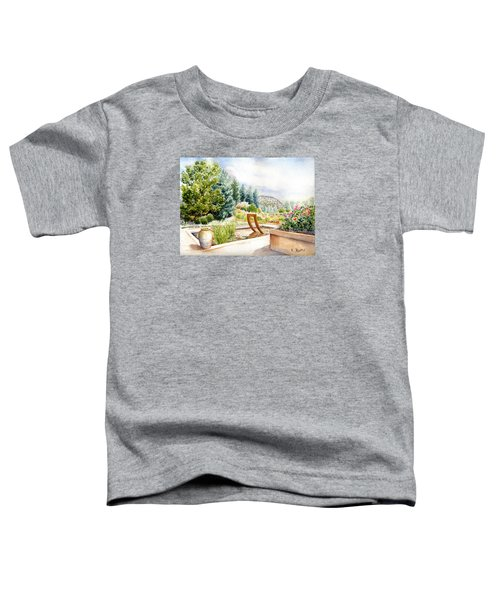 Sculpture Pool At Denver Botanic Gardens Toddler T-Shirt