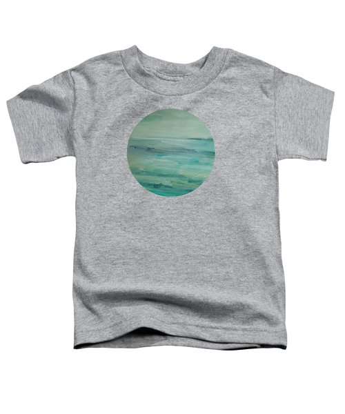 Sea Glass Toddler T-Shirt by Mary Wolf