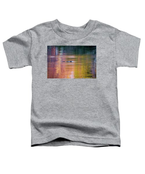 Toddler T-Shirt featuring the photograph Sea Of Color by Bill Wakeley