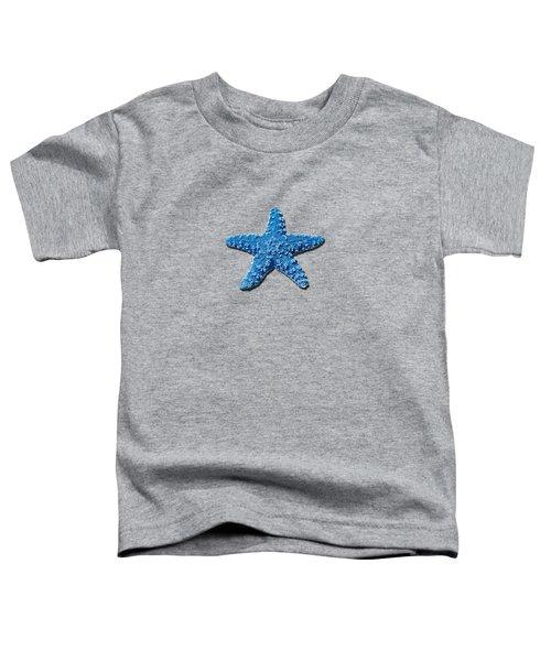 Sea Star Medium Blue .png Toddler T-Shirt