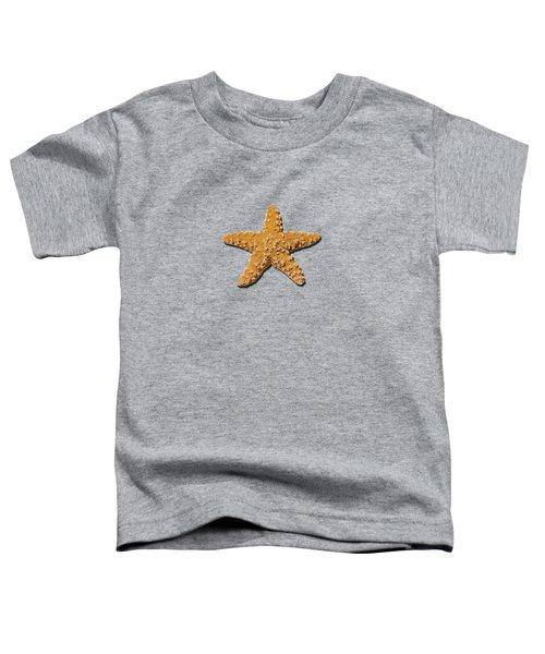 Sea Star Orange .png Toddler T-Shirt