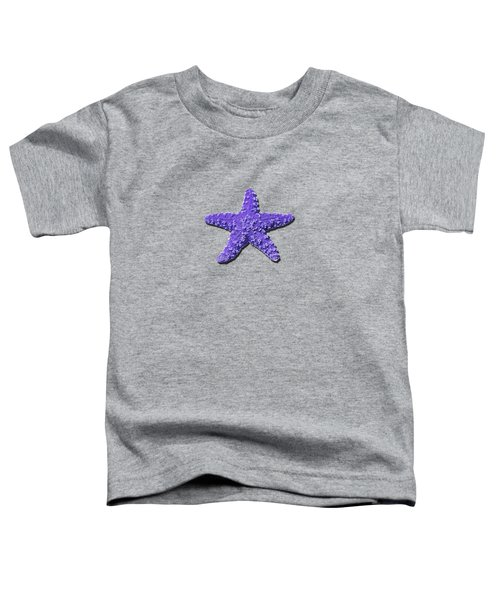 Sea Star Purple .png Toddler T-Shirt