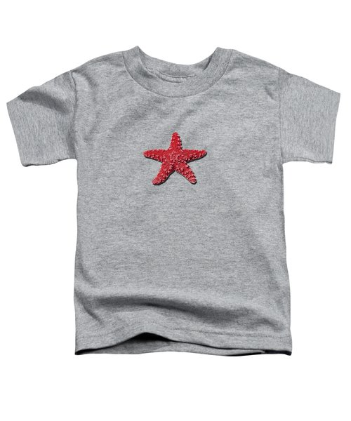 Sea Star Red .png Toddler T-Shirt