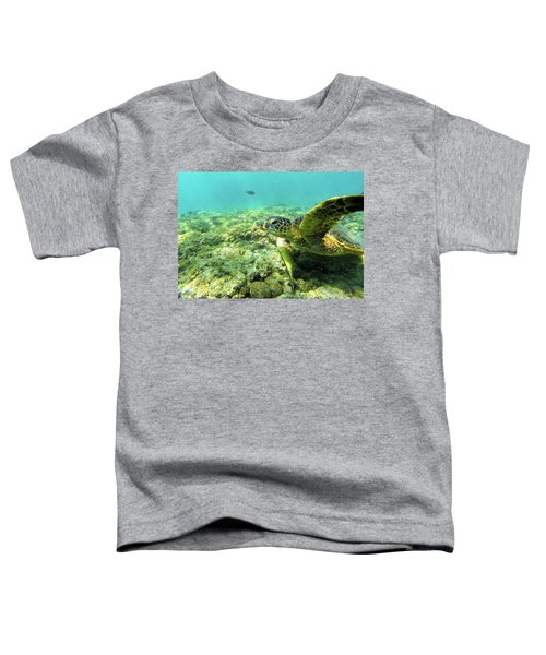 Sea Turtle #2 Toddler T-Shirt