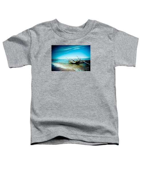 Seacost With Old Tree In Water Kolka Toddler T-Shirt