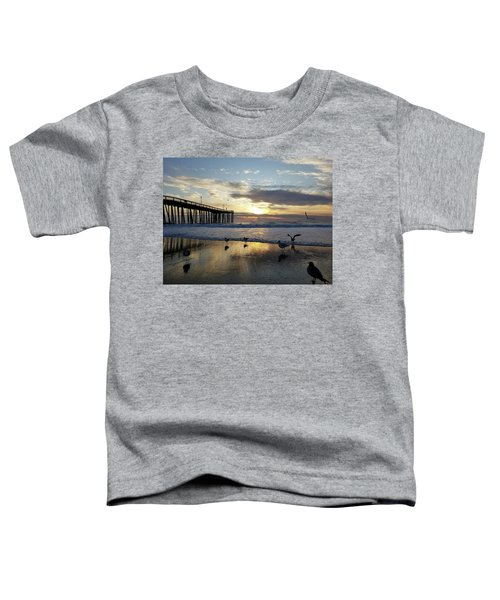 Seagulls And Salty Air Toddler T-Shirt