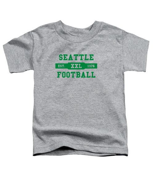 Seahawks Retro Shirt Toddler T-Shirt by Joe Hamilton