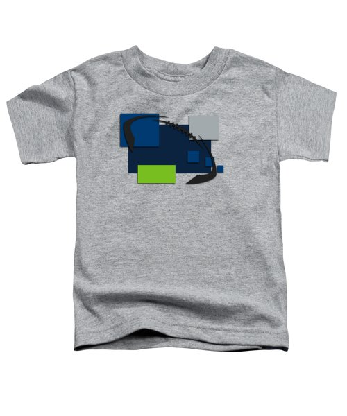 Seattle Seahawks Abstract Shirt Toddler T-Shirt