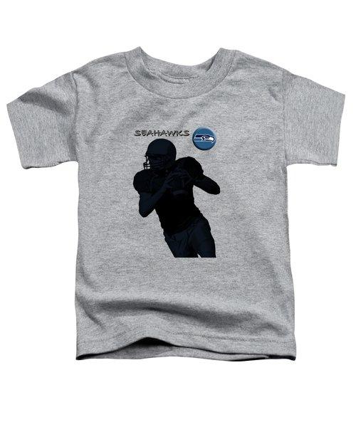 Seattle Seahawks Football Toddler T-Shirt