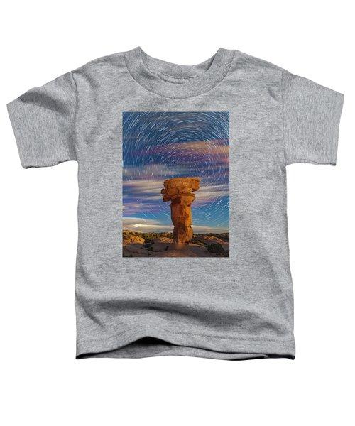 Secret Spire And Star Trails Toddler T-Shirt