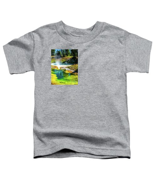 Seismograph Pool In Yellowstone Toddler T-Shirt