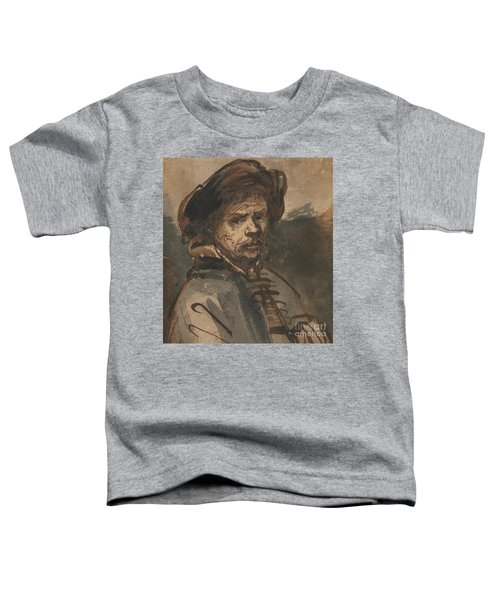 Self Portrait By Rembrandt Toddler T-Shirt