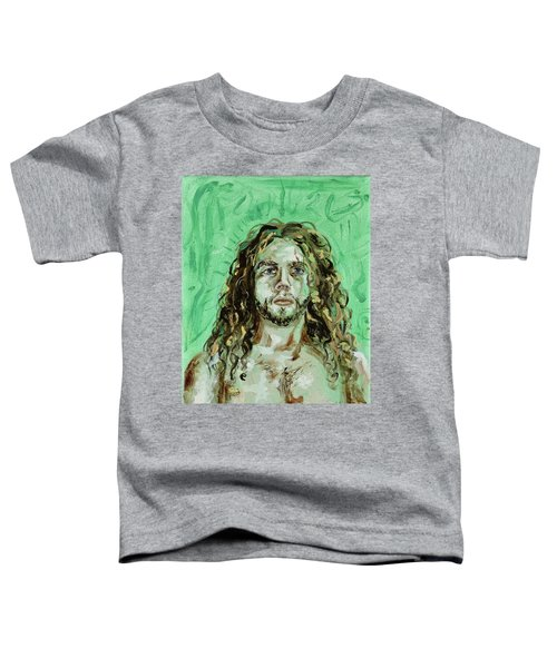 Self Portrait -with Emerald Green And Mummy Brown- Toddler T-Shirt