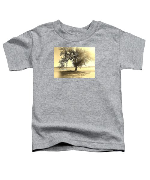 Sepia Colors In A Tree Toddler T-Shirt