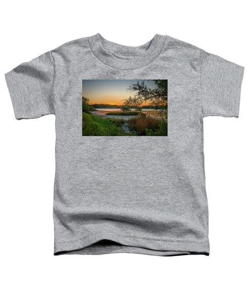 Serene Sunset Toddler T-Shirt