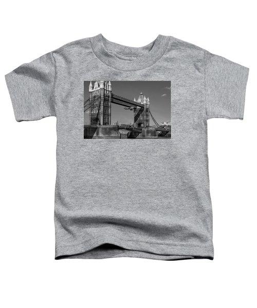 Seven Seconds - The Tower Bridge Hawker Hunter Incident Bw Versio Toddler T-Shirt