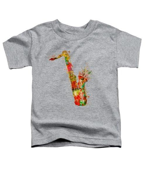 Sexy Saxaphone Toddler T-Shirt