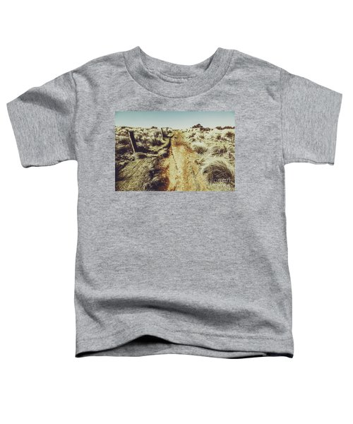 Shabby Outback Path Toddler T-Shirt