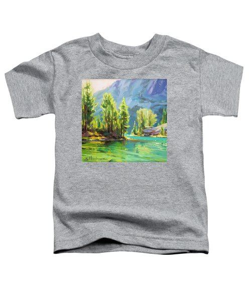 Shades Of Turquoise Toddler T-Shirt