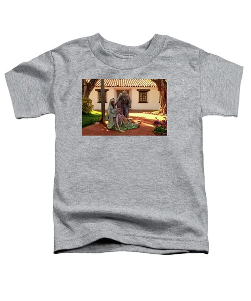 Shadow Of The Cross Detail Toddler T-Shirt