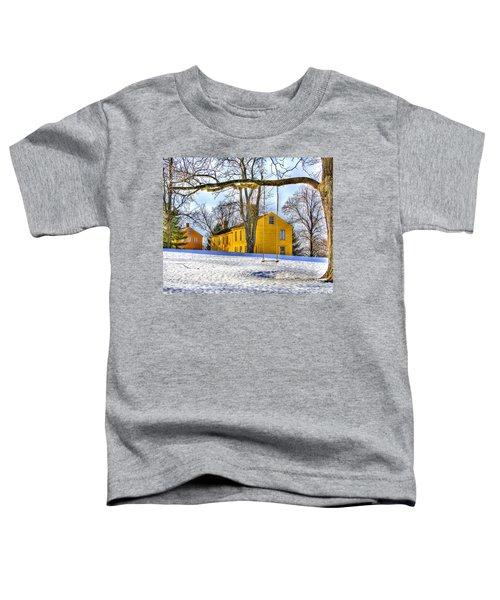 Shaker Swing In Winter 2 Toddler T-Shirt