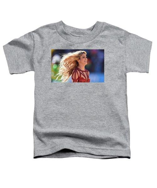 Shakira Brazil Toddler T-Shirt