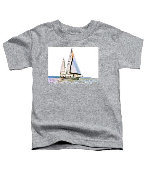 Shannon 38 Kittiwake On Chesapeake Bay Toddler T-Shirt